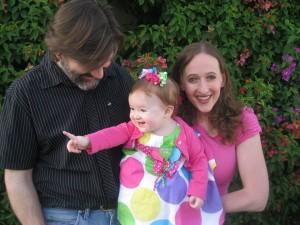 Family Photo - Larry, Kim and Karina